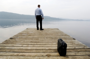 man-on-a-dock-contemplating-balance