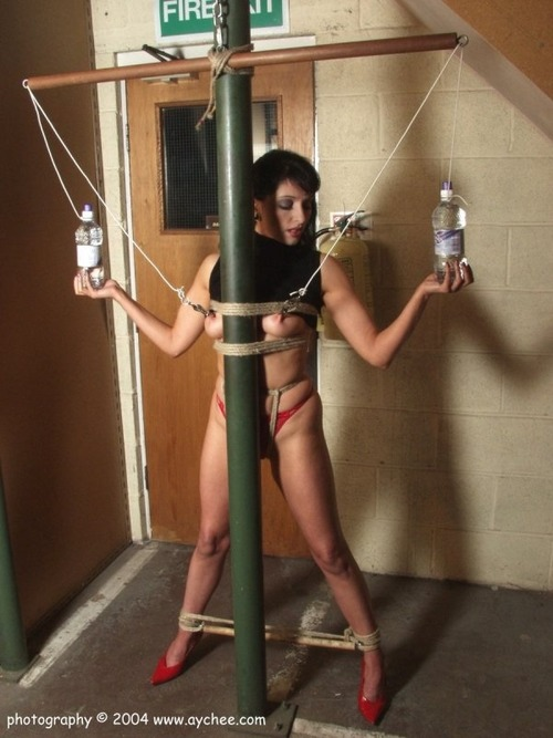 Predicament bondage video
